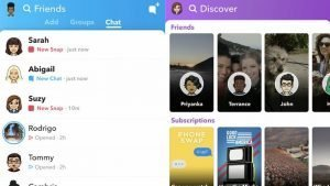 SnapChat-Friends-Page-Camera-DiscoveryPage-New-Version